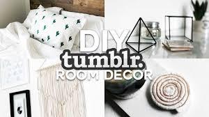 room decor com diy tumblr inspired room decor minimalsimple