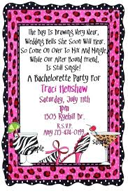 Bachelorette Invitations Template Create Your Own Party
