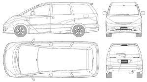 2016 toyota voxy auto electrical wiring diagram nze121 car estima aeras s edition the photo thumbnail image of