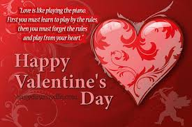 valentine day message for wife