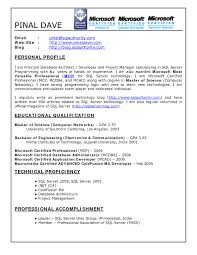 Database Developer Sample Resume Oracle Developer Sample Resume Sql Forms Application VoZmiTut 7