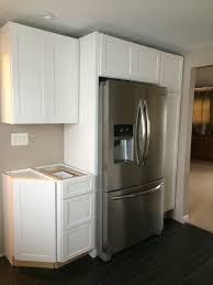 custom kitchen cabinets masco cabinetry kraftmaid beadboard pantry home depot in stock pine unfinished kraft