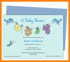 Invite Templates For Word Cool Ba Shower Invite Template Word Time Table Chart Baby Shower