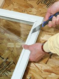 robbie shows you how to replace a piece of glass in a wood frame window let the expert give you the essential tips to make any home improvement project a snap