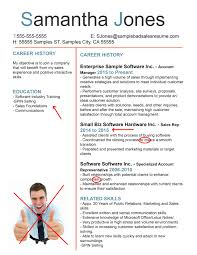the anatomy of a terrible s resume bad resume