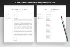 Resume Template And Cover Letter Template David