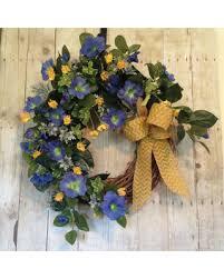 front door wreaths for summerHeres a Great Price on Morning Glory Summer Front Door Wreath