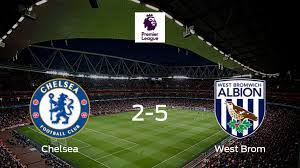 West Bromwich Albion snatches all three points from Chelsea (5-2)
