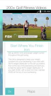 fishfit golf fitness android apps on google play