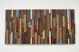 of reclaimed wood wall art