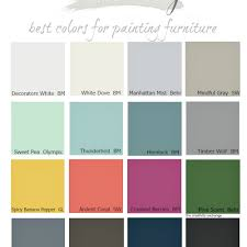 furniture paint colorsNice What Color To Paint Your Diy Craftionary To Prodigious