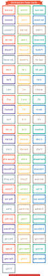 Printable Color Learning Cards L L