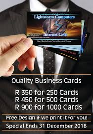 Business Cards Made Easy Take Advantage Lightstorm Computers