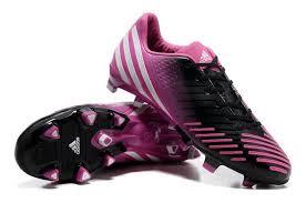 adidas adidas pator red lz db football boots black pink fashion sportshoes s32y7167