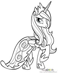 coloring pages princess pony coloring pages my little twilight sparkle cadence pr