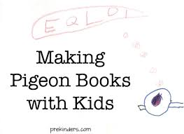 we love mo willems making pigeon books with kids