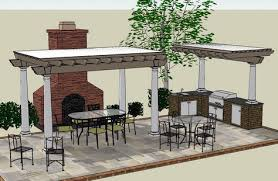 outdoor kitchen designs with pergola shade structures jpg 474x310 build outdoor kitchen gazebo plans