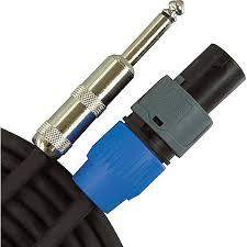 musician s gear speakon to 1 4 speaker cable 14 gauge hidden seo image