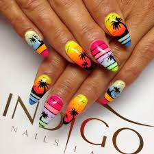 Island Nail Art Designs Beach Cute Nails Girly Holidays Island Nail Art Nail