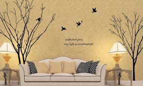 gemini tree branch removable wall art stickers mural vinyl decal paper decor diy large tree wall stickers home decor living room the art gallery wall decal