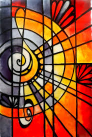 stained glass painting al 2