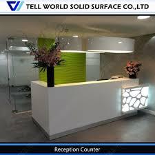reception desk display case reception desk display case suppliers in reception desk with glass display best home office furniture