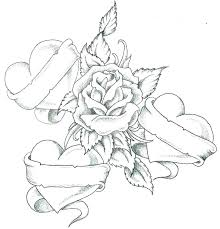 Coloring Pages Flowers Roses Coloring Pages For Kids To Print