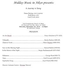 sample concert program inpraiseofmusic org ipom wp content uploads 2012 0