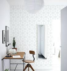 wallpaper for home office. Geometric Wallpaper Patterns Design A Soft And Subtle Home Office Uk For C