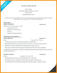 College Admission Resume Template Enchanting Resume Templates For College Applications University Admission