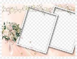 Wedding Frame Photoshop Psd Templates Frame Foto Wedding