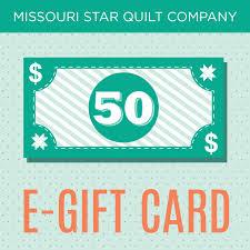 $50 E-Gift Card to the Missouri Star Quilt Company - MSQC - MSQC ... & $50 E-Gift Card to the Missouri Star Quilt Company Adamdwight.com