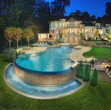 pool designs and landscaping. Landscaping: Above Ground Pool Landscaping Cool Designs And S