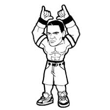 Small Picture Top 15 Free Printable John Cena Coloring Pages Online