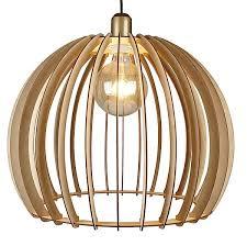woody lamp shade