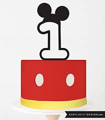 Mickey Mouse Cake Toppers Shop Mickey Mouse Cake Toppers Online