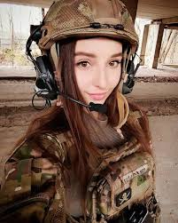 Top Military Busty Girls S Beautiful Wallpapers Of