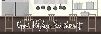 Restaurant open kitchen Concept Katom Restaurant Supply Tips For Your Open Kitchen Restaurant