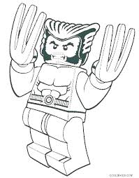 Lego Superhero Coloring Pages Marvel Coloring Pages At Free