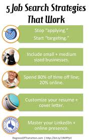 17 best images about your job search strategy 5 job search strategies that work jobsearch newgrad