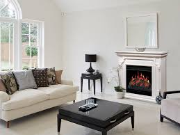 electric fireplace mantels make a statement with style
