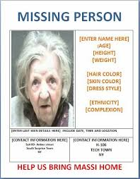 Missing Person Poster Template Enchanting Missing Person Poster Template Templates Pinterest Templates