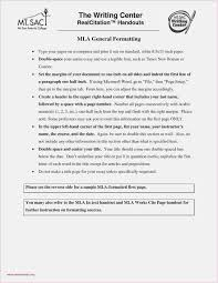 9 Example Of A Mla Format Paper Resume Samples