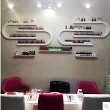 u nail nail polish display is a diy combination of cosmetic nail rack wall hanging lipstick