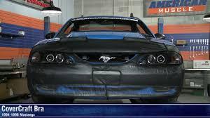 Mustang CoverCraft Bra (94-98 GT, V6) Review - YouTube