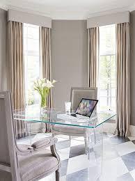 Elegant home office room decor Feminine Elegant Beige And White Home Office Offition 10 Elegant Home Office Design Ideas Offition