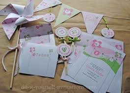 Do It Yourself Baby Shower Invitation Templates Free Baby Shower Invites With Tons Of Diy Party Stuff