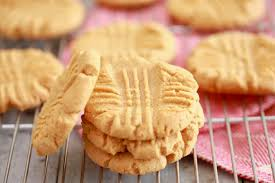 peanut butter cookies.  Butter 3 Ingredient Peanut Butter Cookies Recipe  As Easy 1 2 3 Throughout S