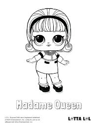 Doll Coloring Pages Free Printable Surprise Dolls Home Improvement