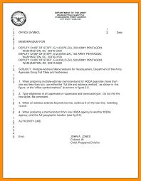 10 Army Memorandum Template Far Wake